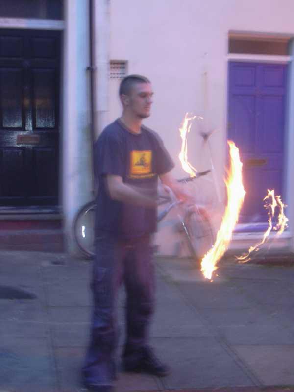 im a fire starter